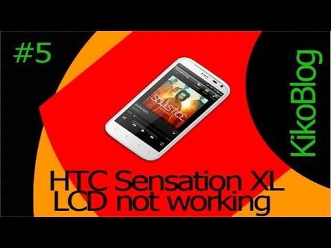 HTC Sensation XL , Lcd not working