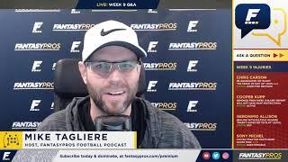 Week 9 Fantasy Football Q&A (2018)
