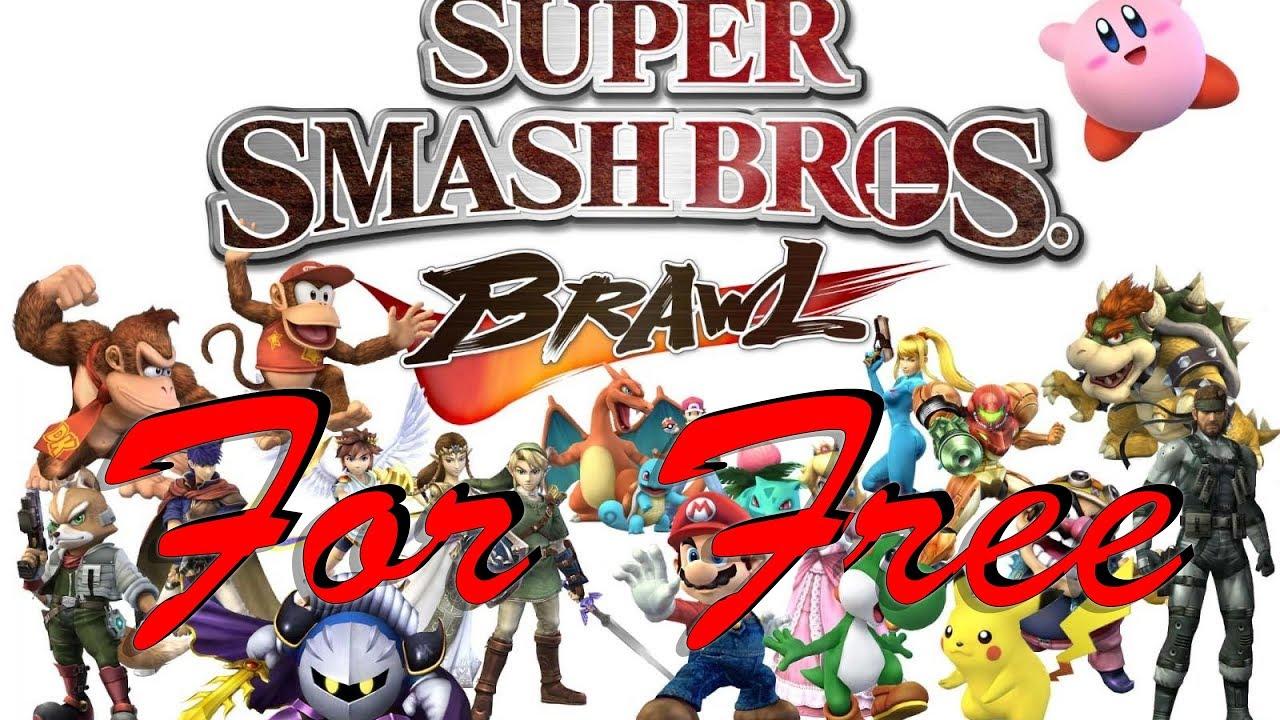 How to get Super Smash Bros  Brawl NTSC for Free (North