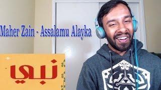 Maher Zain Assalamu Alayka Vocals Only Lyric REACTION