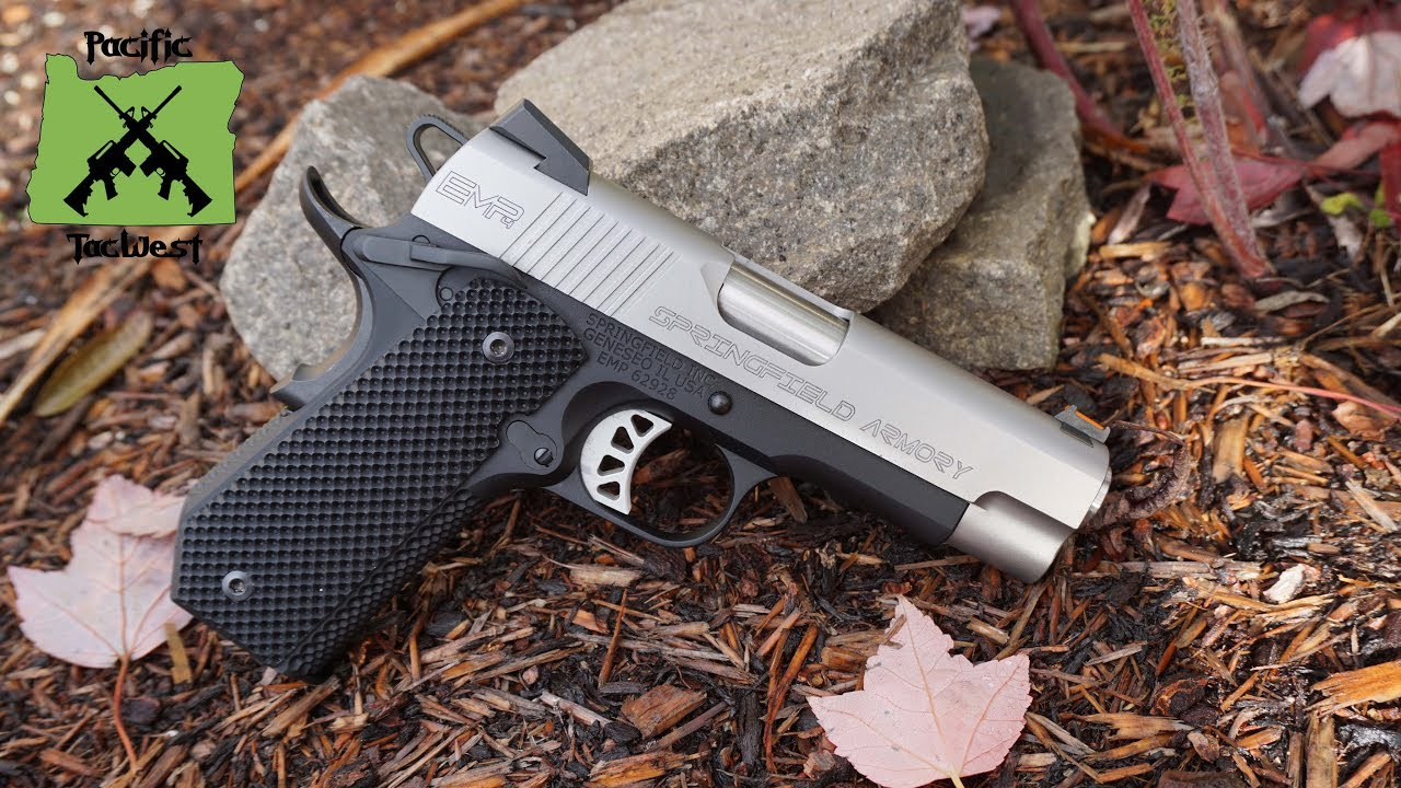 Springfield EMP 4 Concealed Carry Contour 9MM in Review & Range Test