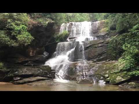 Little Bradley Falls Saluda, NC