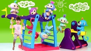 라임의 귀여운 핑거링스 장난감 놀이  playground & Toy 라임튜브