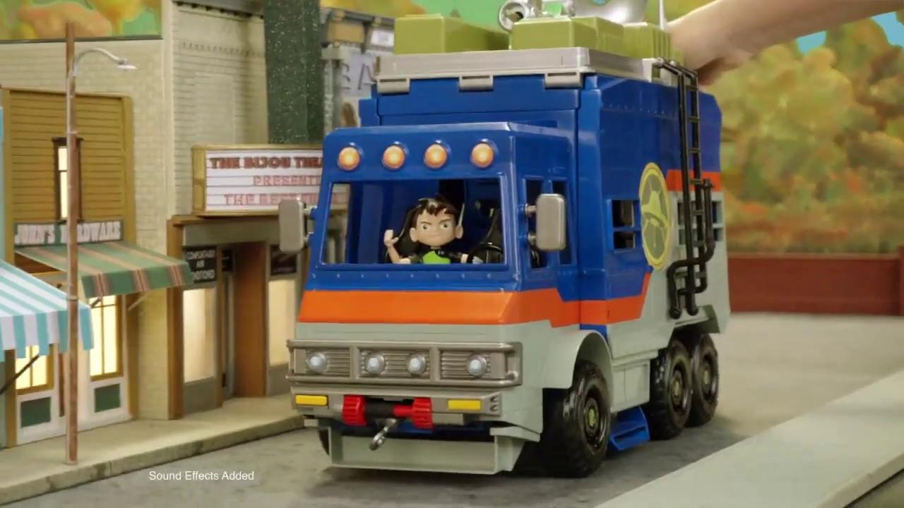 Ben 10 Rustbucket Deluxe Vehicle Transforming Playset