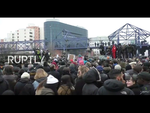 LIVE: Protesters to rally in Bobigny against police violence