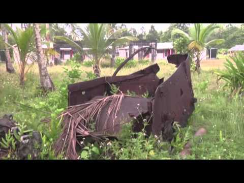 Pacific Island Littered With WWII-era Debris