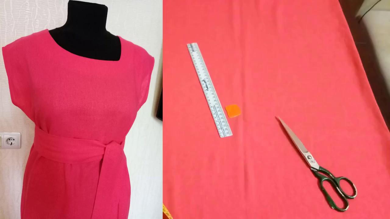 Блузка с коротким рукавом без выкройки фото 106