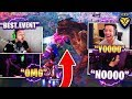 STREAMERS REACT TO THE MONSTER VS MECH EVENT! (Fortnite: Battle Royale)