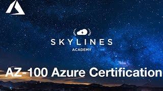 AZ-100 Certificatie Training - Skylines Academy