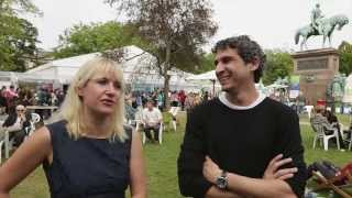 Edinburg Book Festival with Fairest artist Inaki Miranda