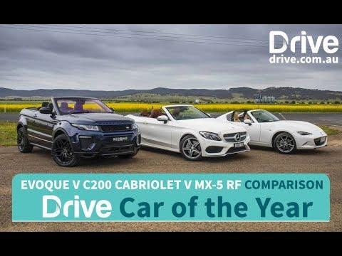 2017 C200 Cabriolet, MX-5 RF, Evoque Convertible   Best Convertible - Dauer: 5 Minuten, 39 Sekunden