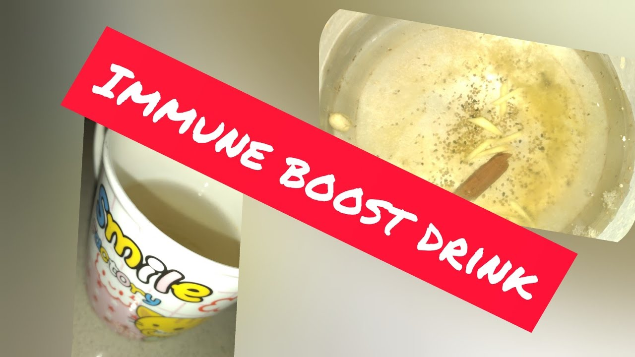 Immune Boost Drink | In Lockdown