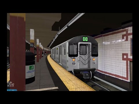 OpenBVE HD: NYC Subway Kawasaki R110A [New Release] on The 6 Express Train (11/29/16)