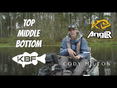 Fishing The Water Column | CODY MILTON - 2018 KBF ANGLR of the YEAR