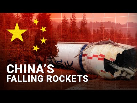 China's Rocket Dropping Habit
