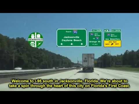 I 95 South Through Jacksonville, FL