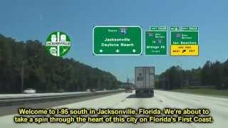 I 95 South Through Jacksonville, FL