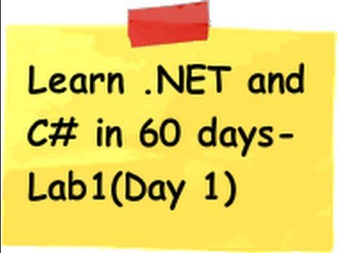 For pdf c beginners .net tutorial