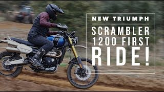Triumph Scrambler 1200XC and XE (2019)   First Impressions Review