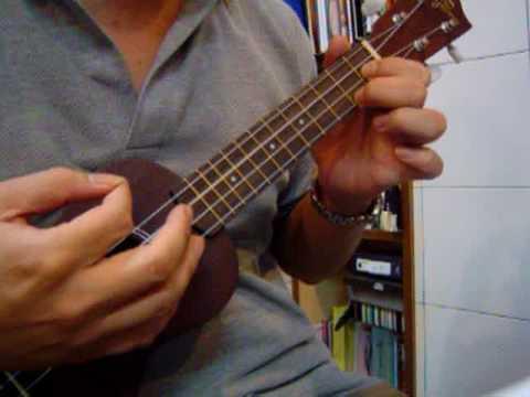 Forgetful Lucy ukulele tutorial  KOYAMA ukulele KYM-S11