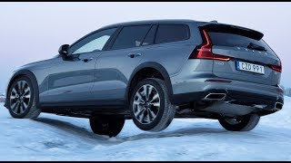 2020 Volvo V60 Cross Country –Test on Snow