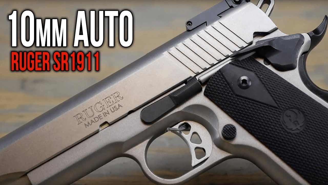 Ruger SR1911 Target Stainless 5