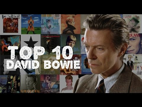 TOP 10 ALBUMS DAVID BOWIE