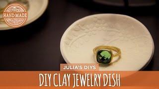 Diy Textured Clay Jewelry Dish - Hgtv Handmade