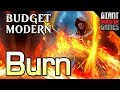 BURN - Budget Mono-Red Modern Deck Tech ($70)