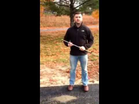 Snow Stake Installation | Driveway Markers | Http://discountsnowstakes.com/index.php/