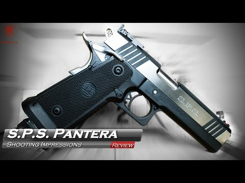 S.P.S. Pantera 9mm Shooting Impressions