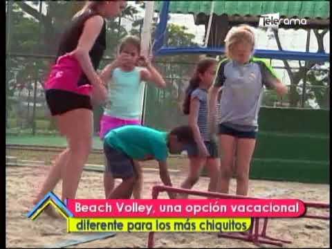 Beach Volley, una opción vacacional diferente para los más chiquitos