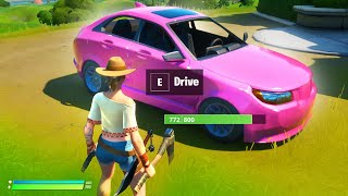 Cars are coming soon in Fortnite!