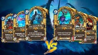 Хартстоун: Легендарки против Легендарок! Битва