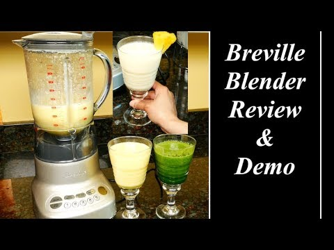 Breville BBL620 Fresh & Furious Blender Review and Demo