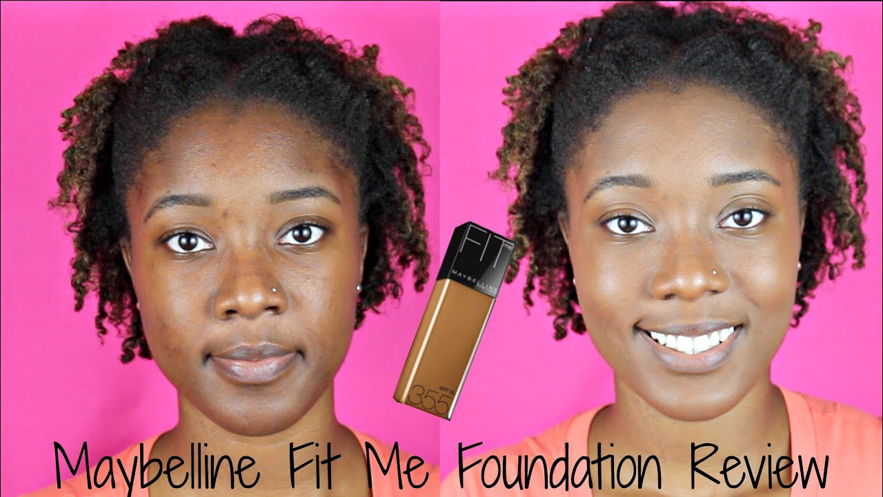 Best Foundation Ever Maybelline Fit Me Matte Poreless Airyrooms 30ml Review Demo