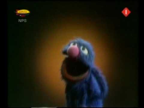 Sesamstraat - Grover - Wat zal ik doen, ik ben alleen