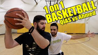 BLOW OUT 1 ON 1 BASKETBALL GAME VS. FIREKICKS!!