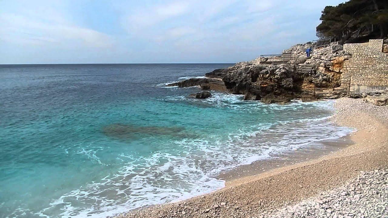 Strande Istrien Karte.Istrien Strande In Pula Istrien Kroatien Fotos Karte