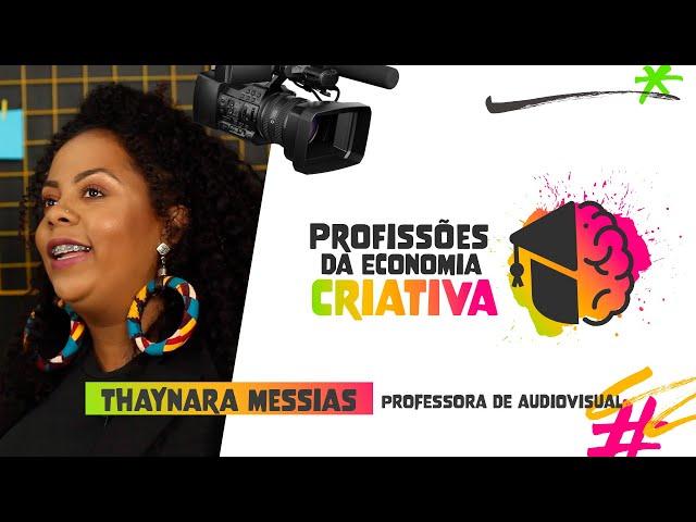 PROFESSORA DE AUDIOVISUAL feat. THAYNARA MESSIAS | Instituto Saber Social
