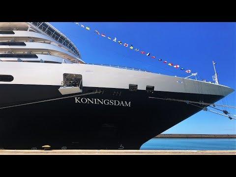 Holland America Koningsdam Cruise Ship 4K