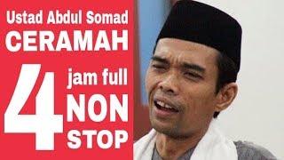 Gambar cover Sebelum dihadang dan intimidasi, Ustadz Abdul Somad Pernah Ceramah 4 Jam Full Non Stop
