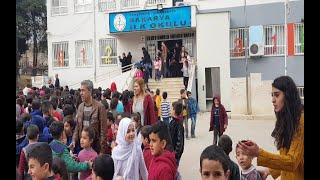 Viranşehir Sakarya İlkokulun da Deprem Ve Yangın Tatbikatı