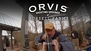 Orvis Clay Shooting At Pursell Farms Youtube