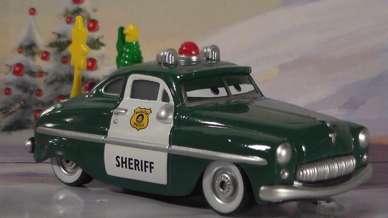 Holiday Spirit Sheriff 2009 World Of Cars Mattel Mater Saves