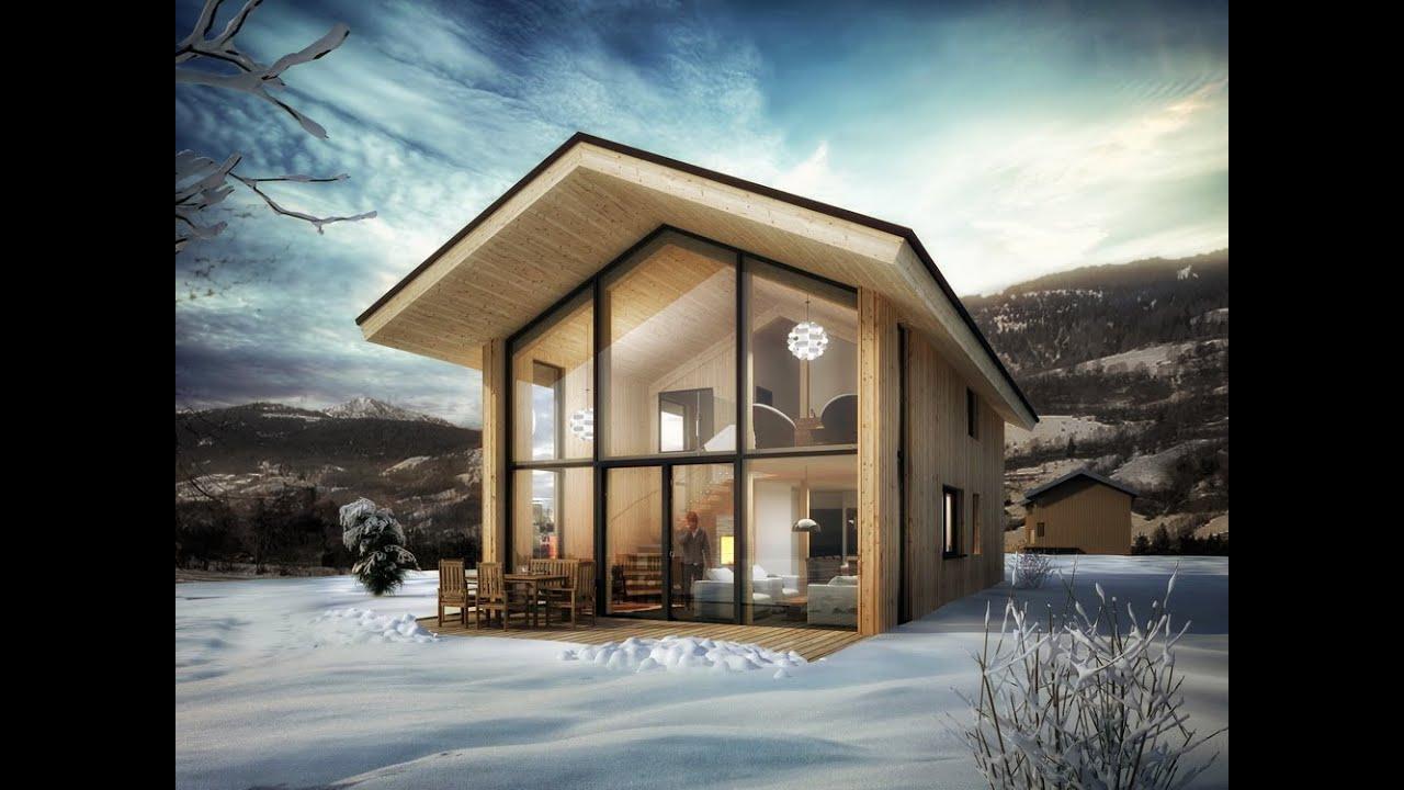 Nexthome panorama chalet austria youtube for Chalet modern bauen