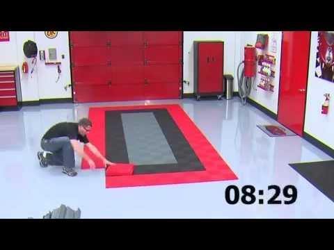 Swisstrax Garage Rubber Floor Tiles YouTube - Traxtile flooring