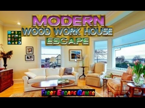 Modern wood work house escape walkthrough feg youtube for Minimalistic house escape 5 walkthrough