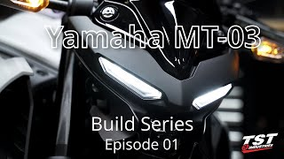 Yamaha MT-03 - First Ride (MT-03 Build Series Ep.1)