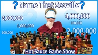 Blindfolded Hot Sauce Challenge (Name That Scoville)  : Crude Brothers